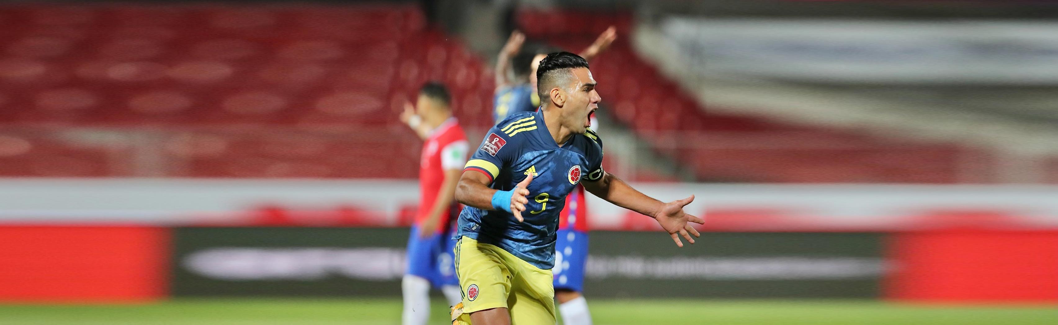 RADAMEL FALCAO GARCÍA | Gol contra Chile